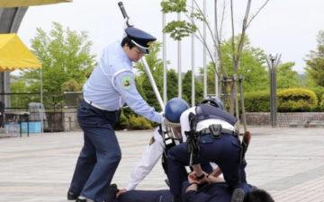 ゴリラガード-泉警察署感謝状贈呈式